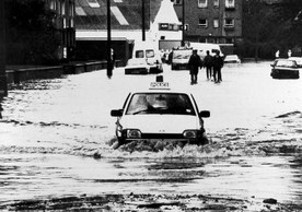 Flooding in 1990