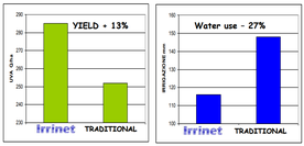 Reasons of success of the IRRINET system
