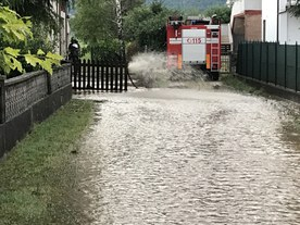 Flooding event in Schio (03.07.2019)