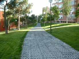 Central alley