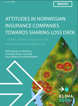 Cover of a report summarising the experience of insurance companies in the project