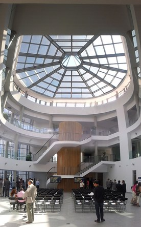 IMDEA energy building: meeting and interaction place