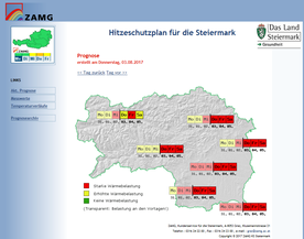 Early warning for the Province of Styria